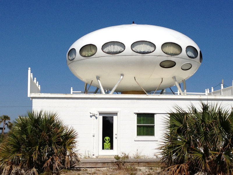 The most curious UFO shaped architecture across the world